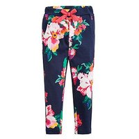 Joules Toddler Girls Jazz Floral Printed Jogger, Navy, Size Age: 6 Years, Women