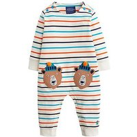 Joules Baby Boys Fife Bear Stripe Babygorw, Multi, Size 9-12 Months