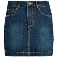 Joules Girls Vickie Denim Skirt, Denim, Size Age: 5 Years, Women