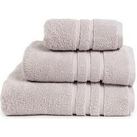 Product photograph showing Super Soft 600 Gsm Zero Twist Towel Range Ndash Silver Grey - Bath Towel