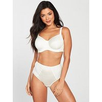 Pour Moi Sirens Hepburn Side Support Bra, Ivory, Size 38Ff, Women