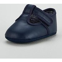 Mini V by Very Baby Navy Occasion Bootie, Navy, Size 0