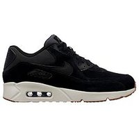 Nike Air Max 90 Ultra 2.0 Leather, Black, Size 9, Men