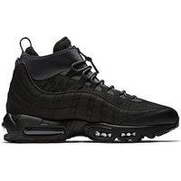 Nike Air Max 95 Sneakerboot, Black/Black, Size 7, Men