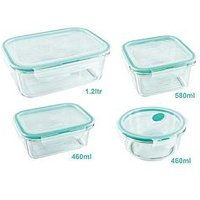 Lock And Lock Clearly Lock And Lock Tritan Food Containers &Ndash; Set Of 4