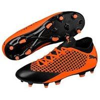 Puma Puma Future Junior 18.4 Firm Ground Football Boot, Orange/Black, Size 12