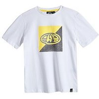 Animal Boys Thoron Graphic Tshirt, White, Size 13-14 Years