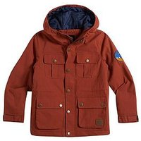 Animal Boys Pheasant Padded Jacket, Rust, Size Age: 9-10 Years