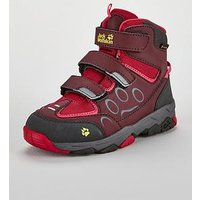 Jack Wolfskin Jack Wolfskin Mtn Attack 2 Texapore Mid Vc K, Berry/Pink, Size 2