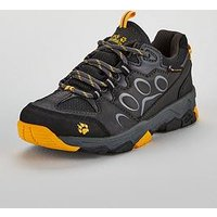 Jack Wolfskin Jack Wolfskin Mtn Attack 2 Texapore Low K, Grey/Yellow, Size 3