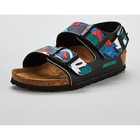 Birkenstock Milano Mickey Mouse Sandal, Black, Size 11 Younger