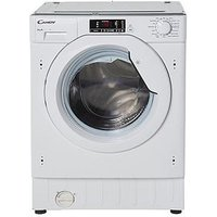 Candy Cbwm916D 9Kg Load, 1600 Spin Integrated Washing Machine  - Washing Machine Only