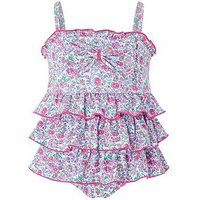 Monsoon Baby Gwen Swimsuit, Ivory, Size 3-6 Months