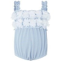 Monsoon Baby Penelope Swimsuit, Blue, Size 3-6 Months