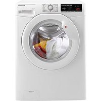Hoover Dynamic Next Dxoa69Lw3 9Kg Load, 1600 Spin Washing Machine With One Touch - White