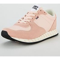 Tommy Jeans Casual Trainer - Pink, Pink, Size 39, Women