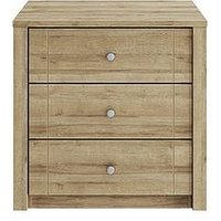 Consort Bronte Ready Assembled 3 Drawer Wide Chest