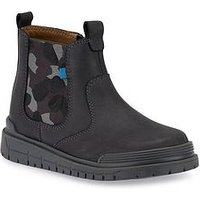 Start-rite Boost Boys Boot, Dark Grey, Size 10 Younger