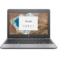 HP Chromebook 11-v001na Celeron 11.6 inch SVA eMMC Black