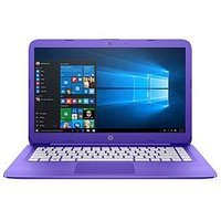 HP Stream 14 Purple