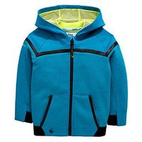 Baker by Ted Baker Toddler Boys Modern Panel Hooded Sweat, Green, Size 12-18 Months