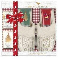 BAYLIS & HARDING Fuzzy Duck For Her Slipper Gift Set, One Colour, Women
