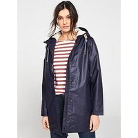Joules Rainaway Raincoat - Navy, Navy, Size 10, Women