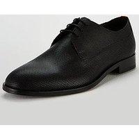 HUGO Derby Lace-up Shoe - Black, Black, Size 6, Men