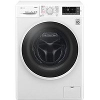 Lg Steam F4J6Ty0Ww 8Kg Load, 1400 Spin Washing Machine