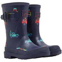 Joules Boys Scout Wellies, Navy, Size 13 Younger