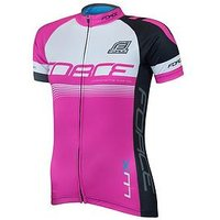 Force LUX Womens Jersey, Pink/White, Size Xs, Women