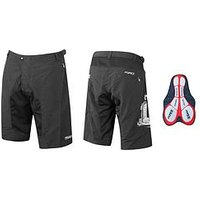 Force MTB-11 Shorts, Black, Size S, Men