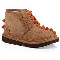 UGG Toddler Boys Dydo Neumel ll Dinosaur Boot, Chestnut, Size 9 Younger
