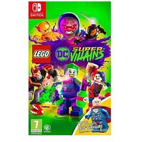 Nintendo Switch Lego Dc Super Villains Mini Figure Edition - Switch