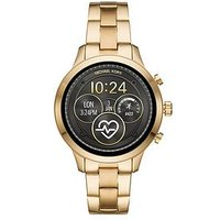 MICHAEL KORS Michael Kors Rose Gold Dial Rose Gold Stainless Steel Ladies Smart Watch, One Colour, Women