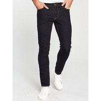Jack & Jones Intelligence Glenn Jean, Raw Denim, Size 32, Inside Leg Long, Men