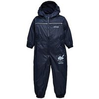 Boys, Regatta Baby Boy Puddle Iv Splash Suit, Navy, Size 18-24 Months