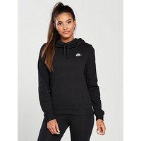 Nike Sportswear Funnel Hoodie - Black , Black, Size Xl, Women