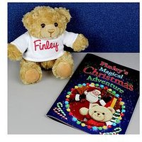 Personalised Magical Christmas Book And Bear Gift Set, One Colour, Women