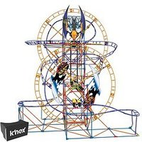 Knex Bionic Blast Roller Coaster Building Set - K'Nected With Viewer