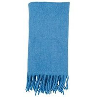 WHISTLES Open Weave Blanket Scarf - Pale Blue, Pale Blue, Women