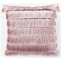 Product photograph showing Michelle Keegan Home Flapper Cushion - Blush