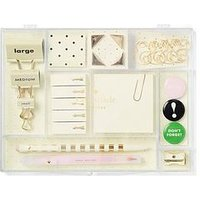 Kate Spade New York Kate Spade Tackle Stationary Box, One Colour, Women