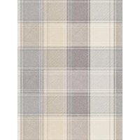 Product photograph showing Arthouse Grey Check Wallpaper