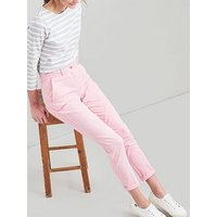 Joules Hesford Chinos - Pale Pink, Pale Pink, Size 14, Women