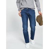 Armani Exchange Armani Exchange Straight Fit Jean, Denim Indigo, Size 36, Inside Leg Regular, Men
