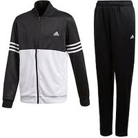 adidas Boys Ts Tracksuit, Black, Size 5-6 Years