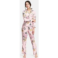 Joules Astrid Woven PJ Set - Pink , Pink, Size 18, Women