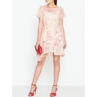 Allsaints Sara Verity Belted Dress - Pink