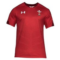 UNDER ARMOUR WRU Home Supporters Jersey, Red, Size 4Xl, Men